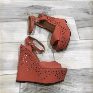 Shoes - Wedges size 7 1/2